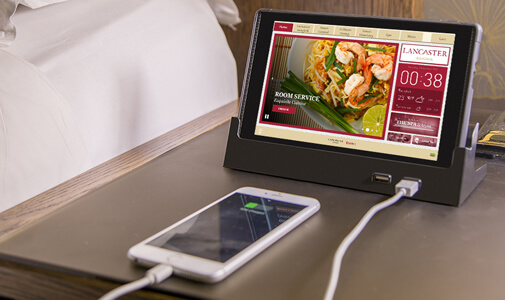 5-Star Lancaster Bangkok to Provide 5-Star Guest Service with Crave In-room Tablets