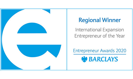 Crave Announced as Regional Winner of Barclays' Entrepreneur Awards