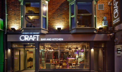 Exclusive Bar Craft Lincoln Thrives with Mobile Order and Pay Solution