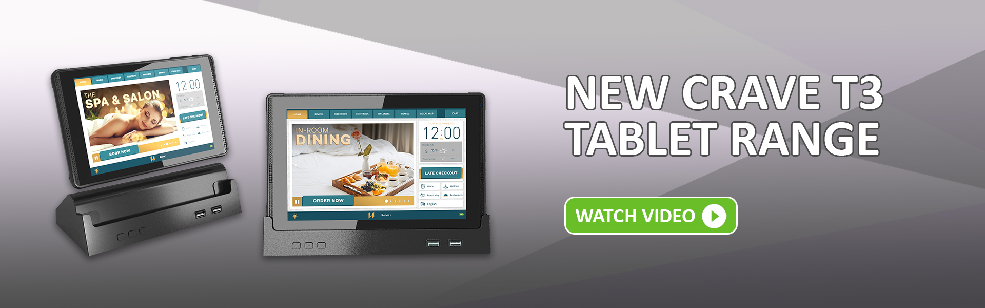 The New Crave T3 Tablet Range