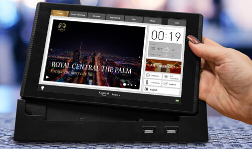 Central Hotels to Go Paperless in Rooms with Crave Interactive